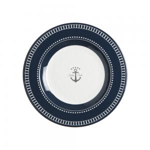 MARINE BUSINESS Assiettes desserts sailor soul (x6)