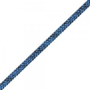 Liros Dyneema gainé Magic Edge ø 5 noir bleu le mètre