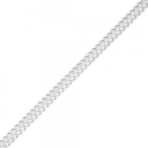 LIROS Tresse polyester blanche le mètre