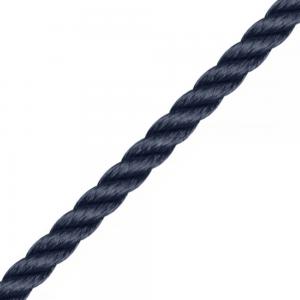 Liros Amarre 3 torons bleu polyamide le mètre