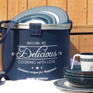 MARINE BUSINESS Pack vaisselle sailor soul 24 pièces