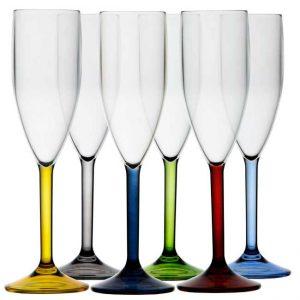 MARINE BUSINESS Flûtes à champagne party (x6)