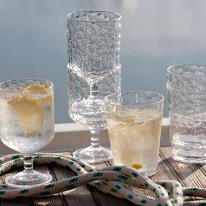 MARINE BUSINESS Verre à eau ice empilable