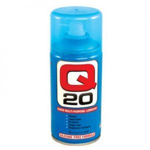 Q20 Lubrifiant dégrippant sans silicone
