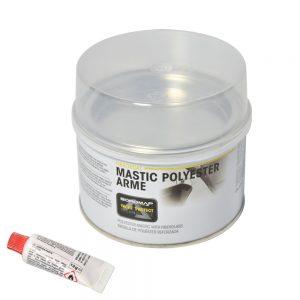 SOROMAP Mastic polyester armé 500G + catalyseur