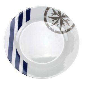 COULEUR MER Marina assiette plate
